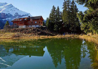 Fondue Restaurant Alpin Hotel Montreux